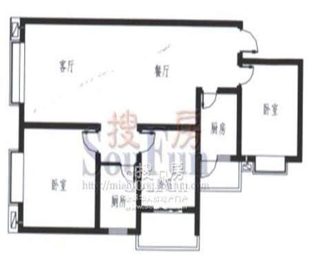 梓锦新城三期户型(双面积:119.00平米