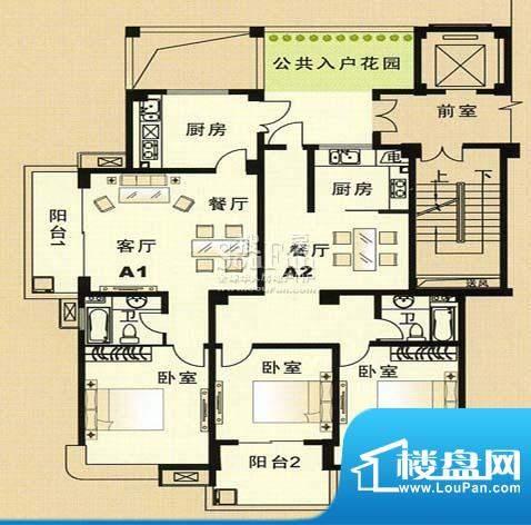 兴和苑户型图七面积:0.00平米