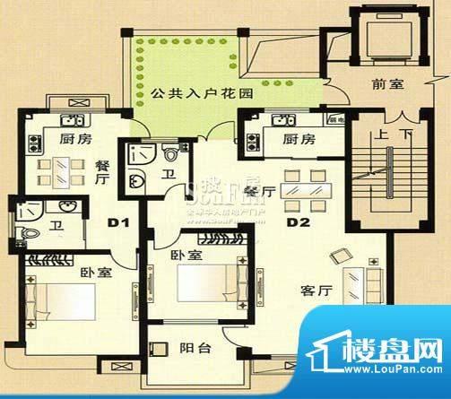 兴和苑户型图十面积:0.00平米