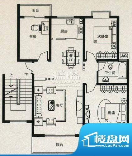 金丰花苑户型图十面积:0.00平米