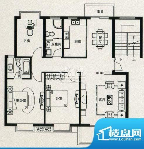金丰花苑户型图十一面积:0.00平米