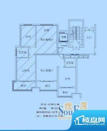 庆龙·云锦公寓户小面积:0.00平米