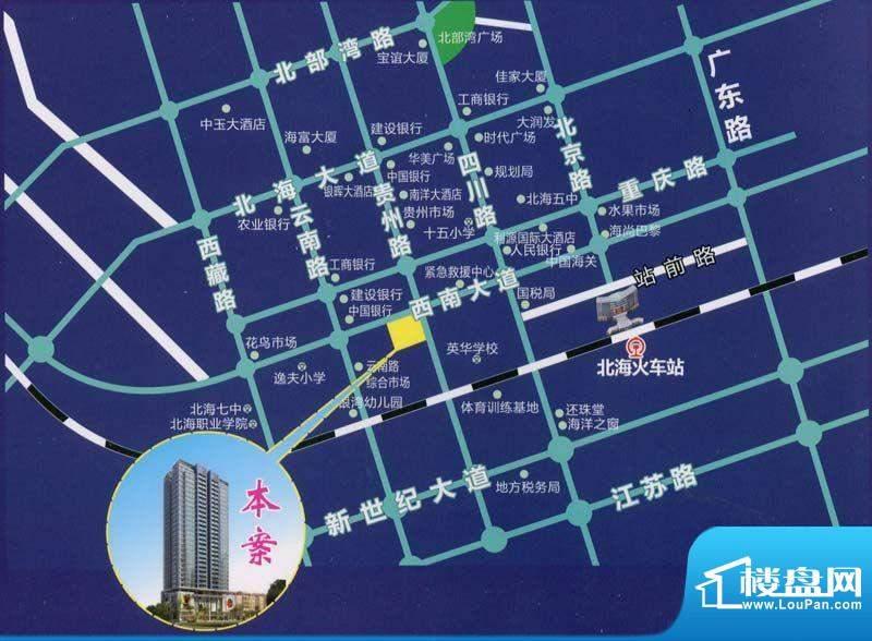 光华大厦交通图