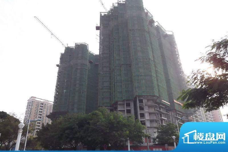 海辰国际项目工程外景图20111226