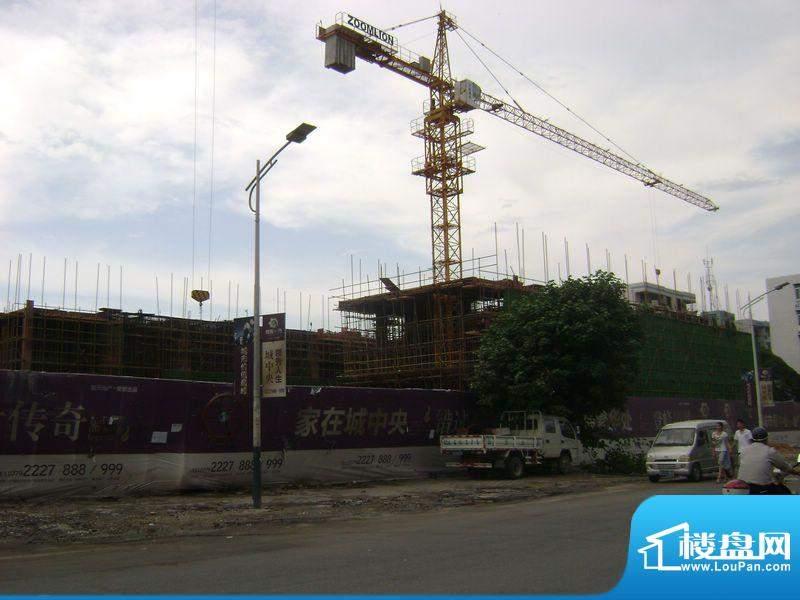 领秀一方项目工程实景图(2011-11-01)