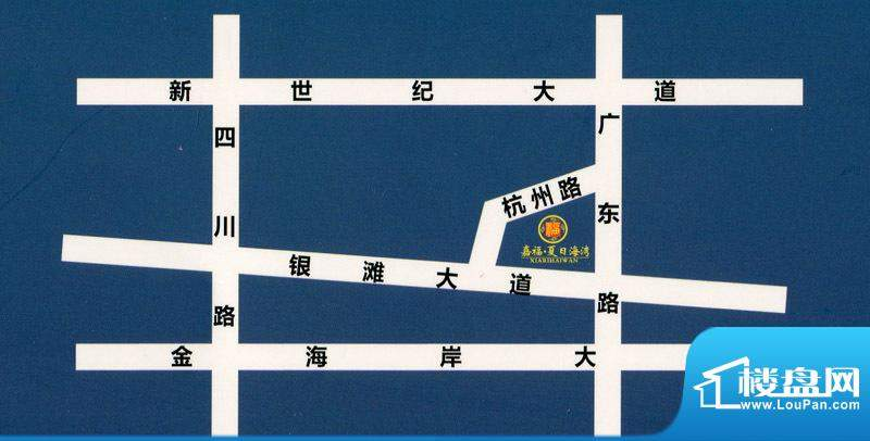 嘉福·夏日海湾交通图