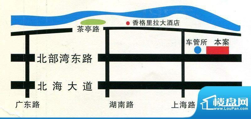 幸福两岸交通图