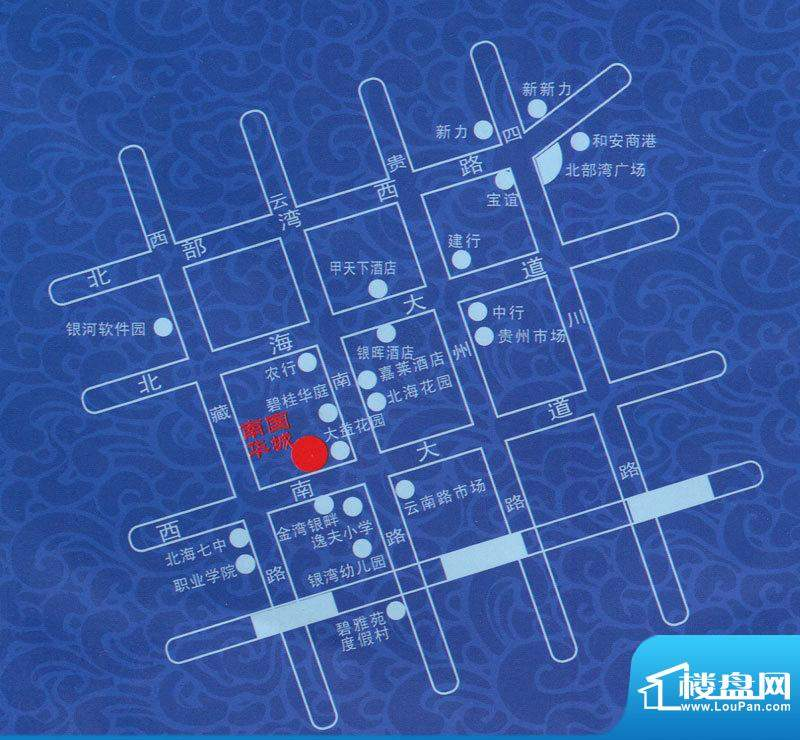 南国华城交通图