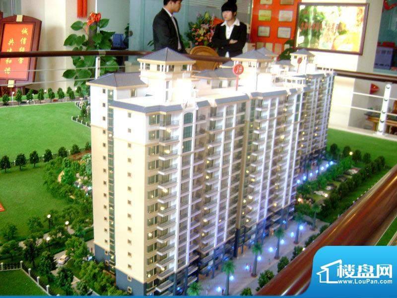北岸晏城二期小区沙盘实景20110323