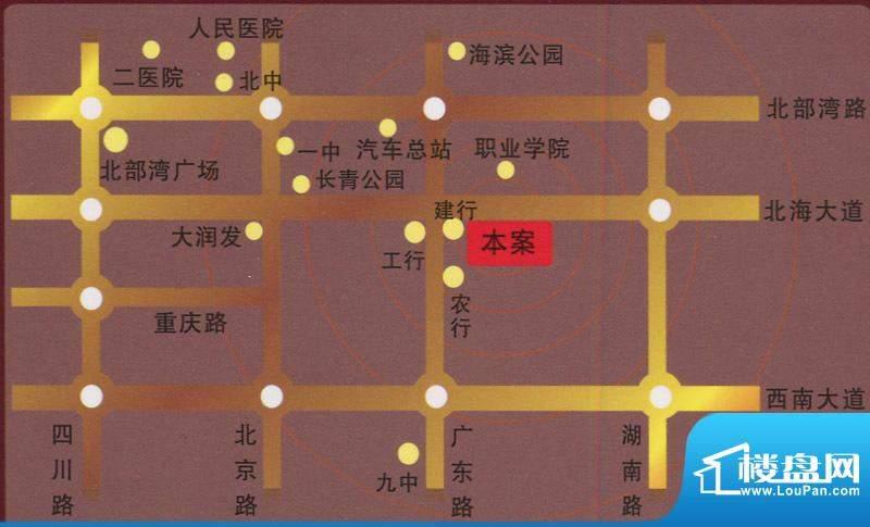 海韵假日家园交通图