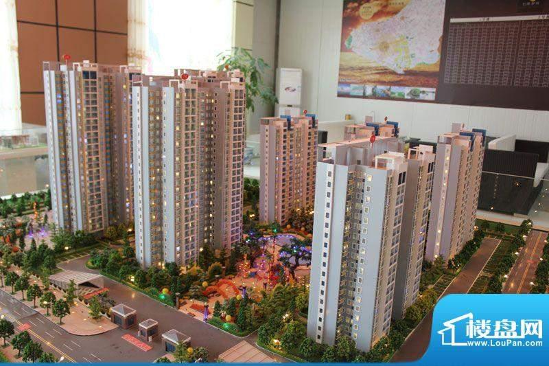 怡康春城项目整体规划沙盘实景20120228