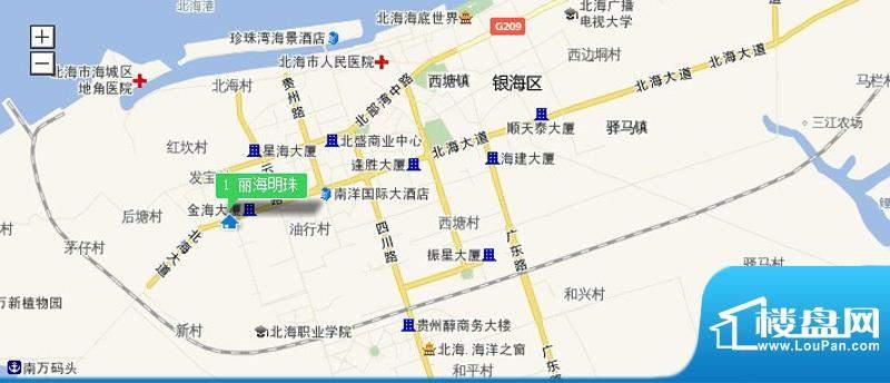 丽海明珠交通图