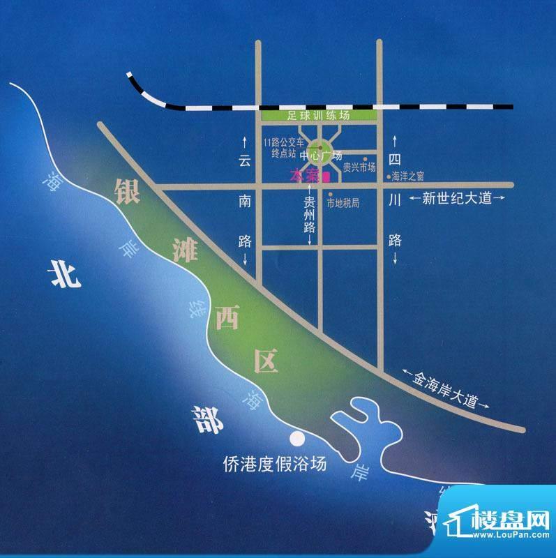 华天佳苑交通图