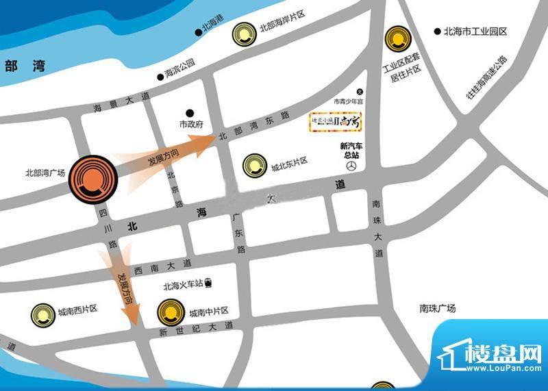 迪亚小城交通图