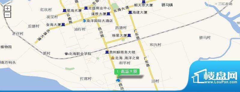 嘉盛大厦交通图