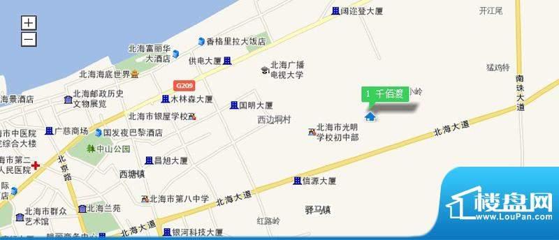 嘉园千佰渡交通图