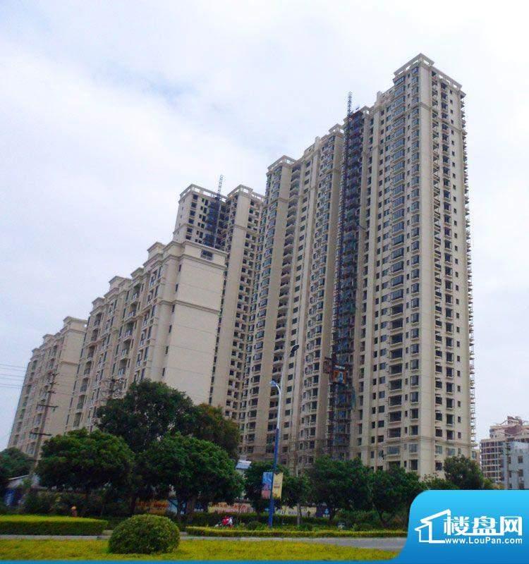 锦绣湾花园20111214项目施工进度:外墙
