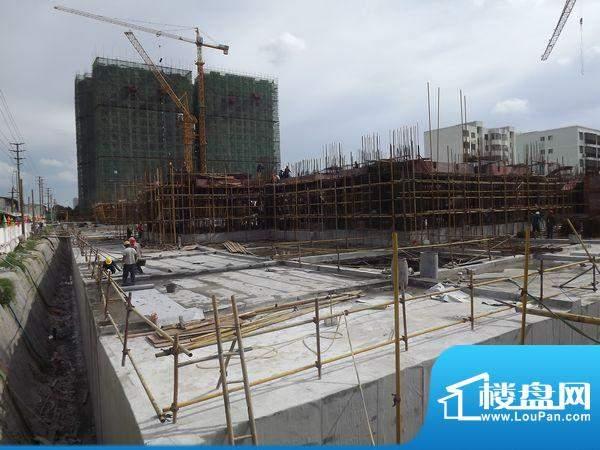 东方之珠花园小区项目工程进度2012.9.1