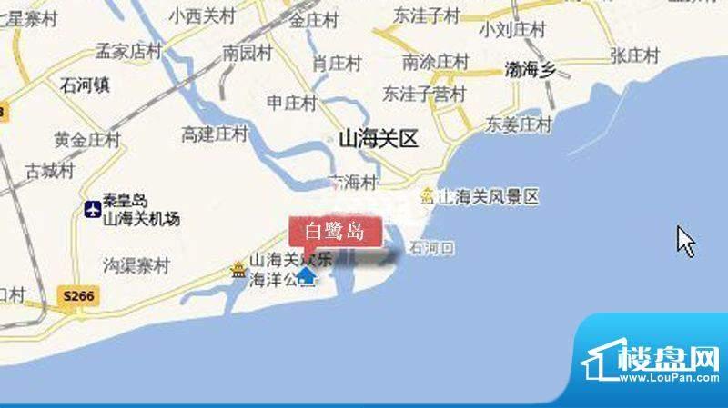 白鹭岛海屿墅交通图