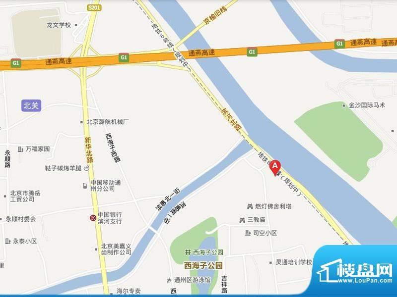 长安运河位置图