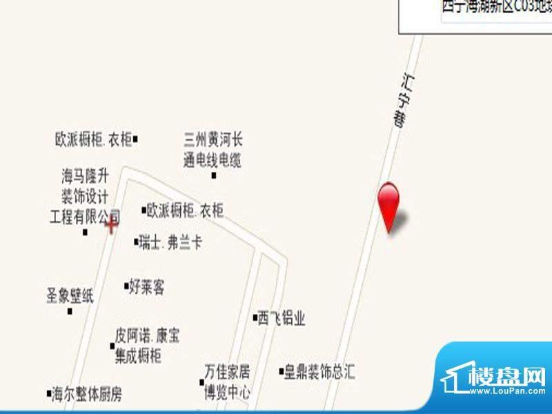 西城名邸交通图