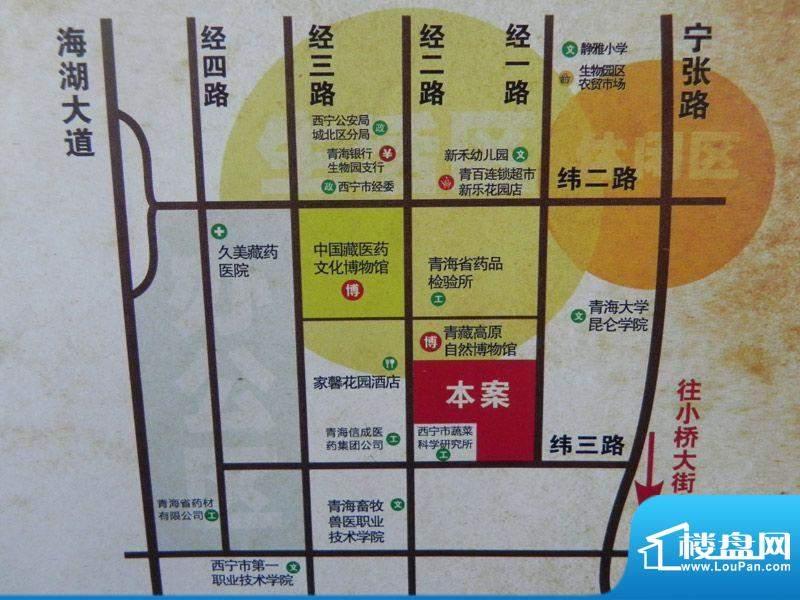 紫金佳苑交通图