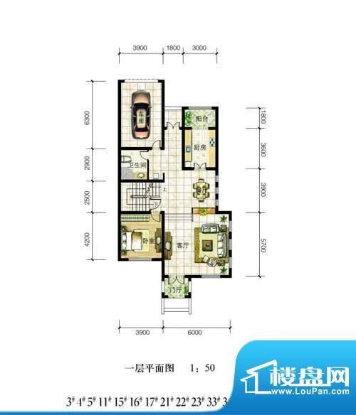东营新汇东海岸双拼面积:0.00m平米