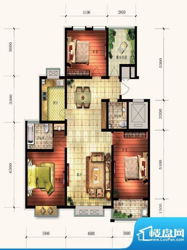 富庭大第一期9号楼3面积:0.00平米