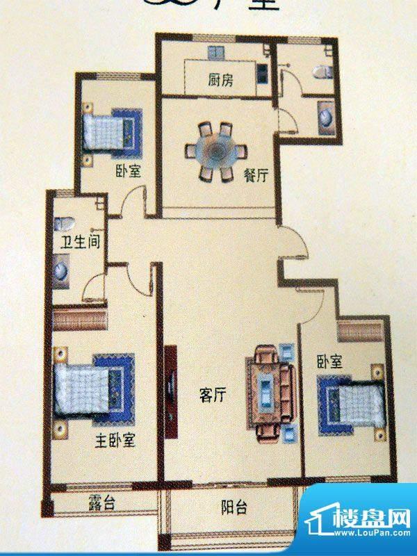 艾森颐景园一期住宅面积:125.00平米