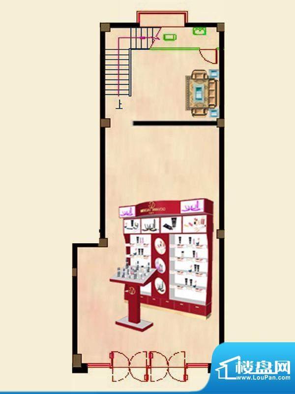 蝶园欣苑一期商住楼面积:245.14平米