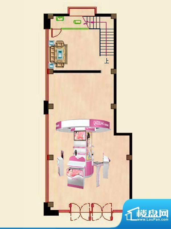 蝶园欣苑一期商住楼面积:231.14平米