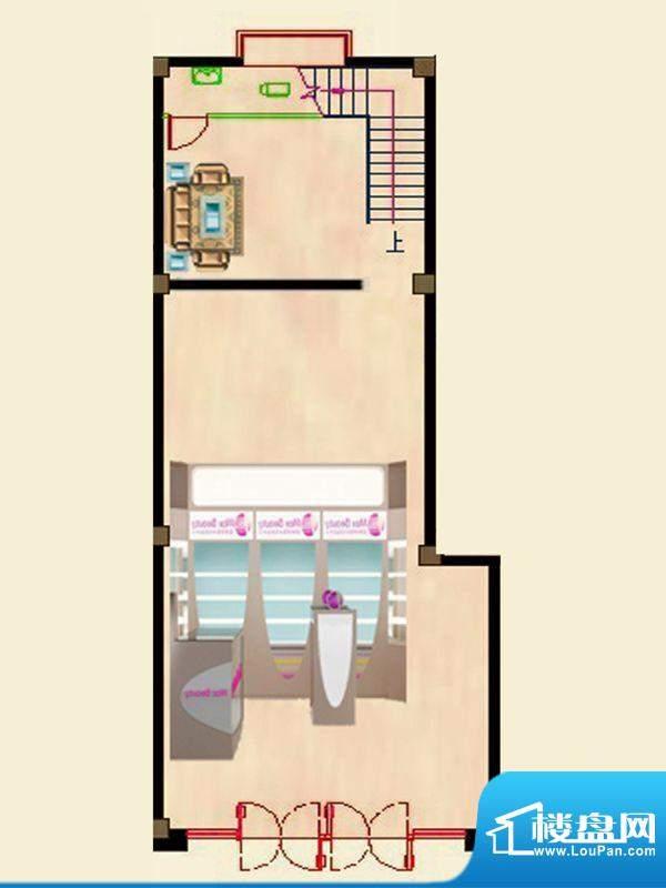 蝶园欣苑一期商住楼面积:231.10平米
