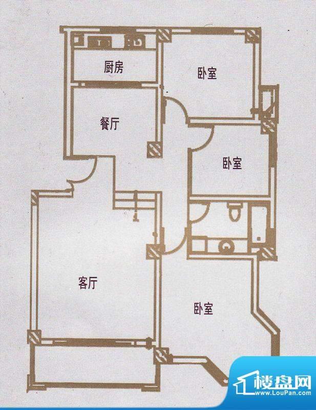 亿豪城中名邸11号楼面积:134.86平米