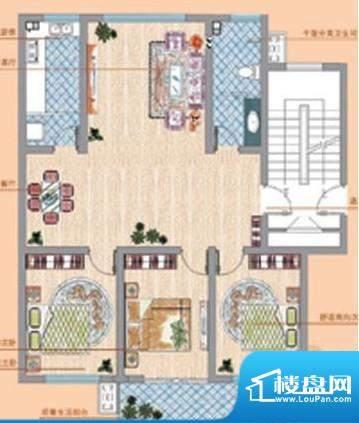 凤鸣郡户型03 3室2厅面积:0.00平米