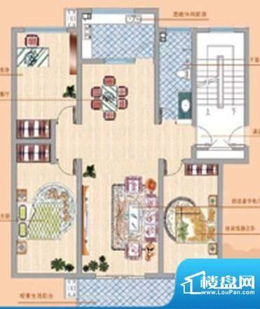 凤鸣郡户型05 3室2厅面积:0.00平米