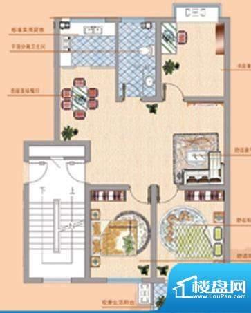 凤鸣郡户型07 3室2厅面积:0.00平米