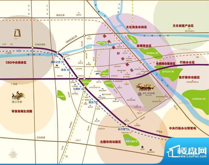 合生滨江帝景位置图
