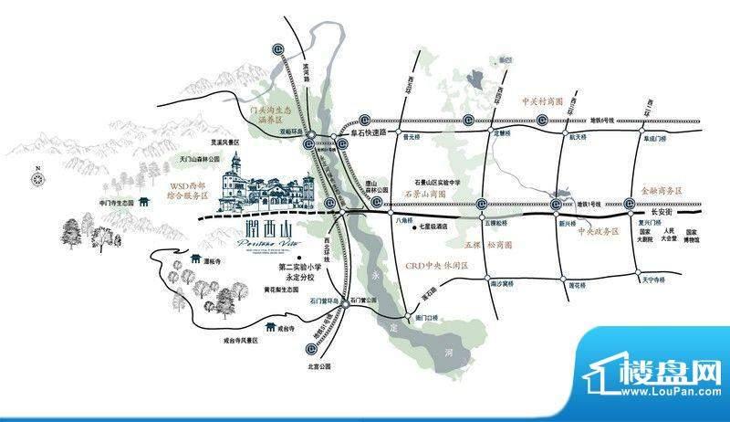华润·润西山交通图