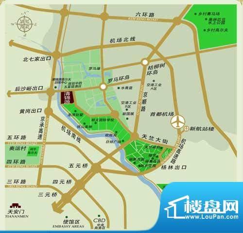清锦源位置图