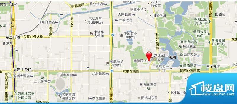 PARK北京交通图