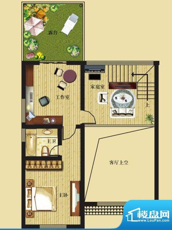 一米阳光快乐家园户型图G户型叠面积:190.00平米