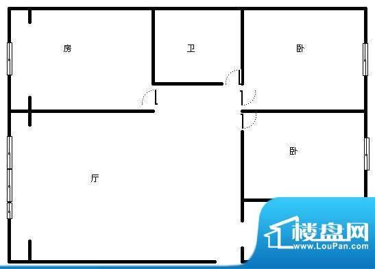 温泉山谷 4室 户型图面积:172.00平米