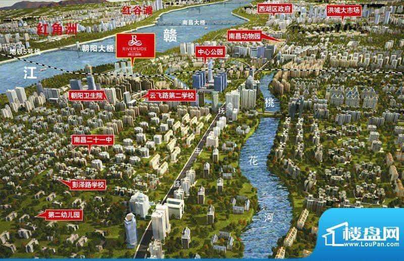 力高滨江国际交通图