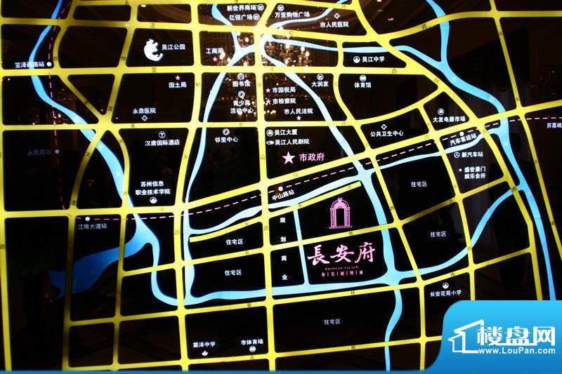 亨通长安府交通图