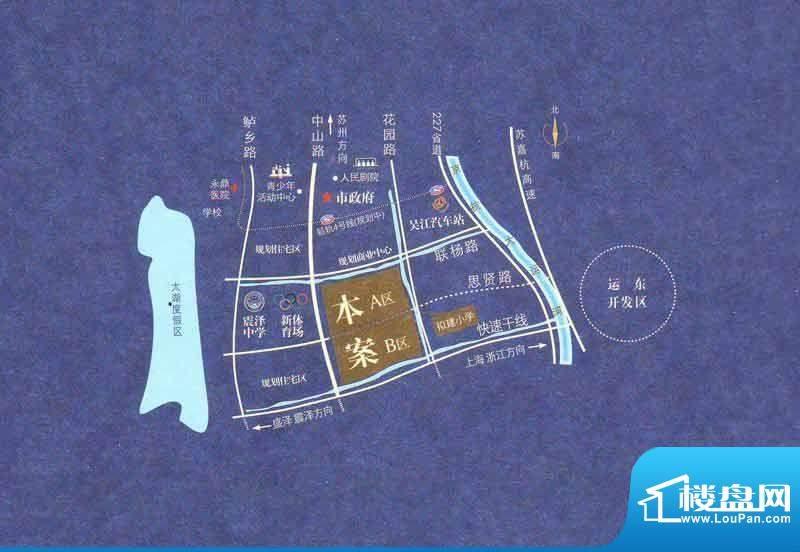 瑞景国际交通图