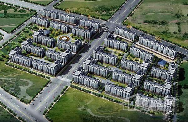 绿色新城效果图