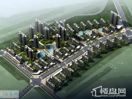 大汉新城效果图