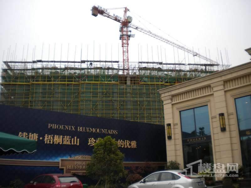 钱塘·梧桐蓝山实景图