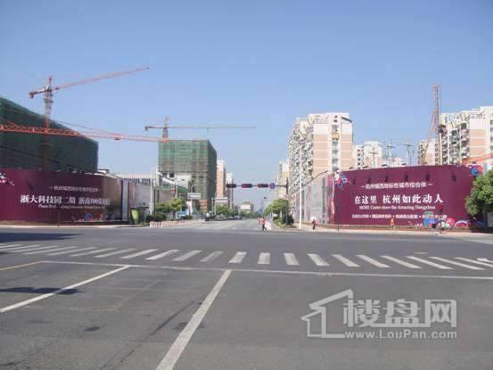 浙商财富中心商铺实景图