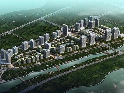 南武汉企业特区实景图